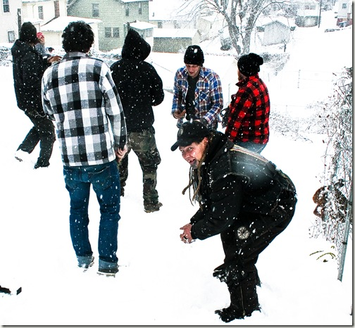 snowball fight final 3-1
