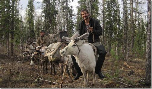 jordan and reindeer