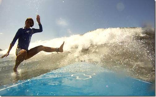 surfing kunfu five
