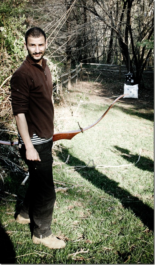 bow and arrows with ben t 11