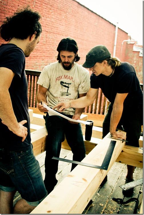 timber framing workshop