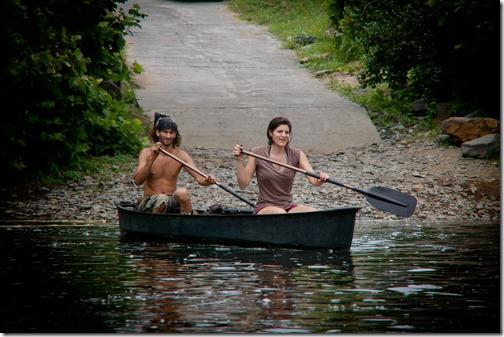 weekend rafting ben and lisa