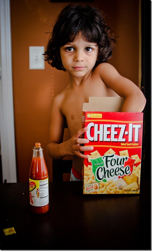 cheez-it chemist