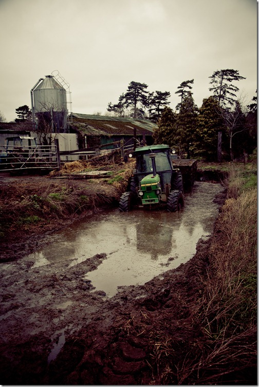 tractor in mud jan2012